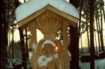 Stogastulpio fragmentas. H=2,6 m, ąžuolas. Prienai, 1998 m.
